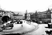 Cidade de Porto Alegre RS / Momentos  de uma cidade em desenvolvimento