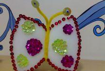Beaded craft idea for kids