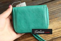 Dompet Wallet/Purse with Long Strap / Rp.85.000  Size: 10x8CM Bahan: PU Leather