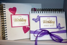 Wedding Guest Books and Albums / Personalised Wedding Guest Books and Albums we have been commissioned to undertake
