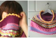 crochet inspiration and free patterns (cowls-scarfs-shawls-jackets-dresses-shirts-etc)