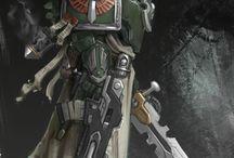 Warhammer 40k and Fantasy