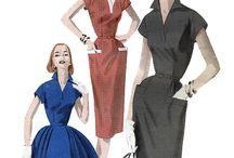 1950's pocket dresses