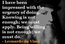 Quotes: Leonardo Da Vinci