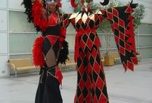 stilt costumes