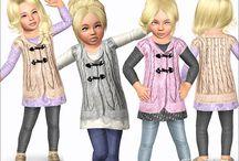 the sims  moda copii