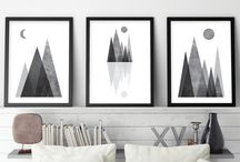 Black and white / Black and white decor, jewelry, room decor, cards, clothes, toys, minimalist, Yin and Yang, alb, negru, monocrom