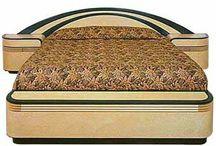 ◇ Bedroom 80s Brown Art Deco ◇