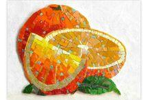мозаик портокаля