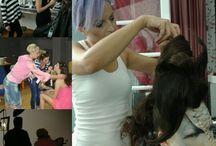 Makeup master seminars, our students at work