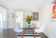 A place to dine / Some of our favourite dining spaces from properties for sale or sold by Cobden & Hayson in Sydney's Inner West