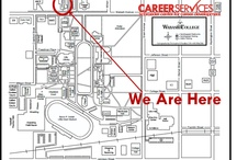 Where To Find Us / Whether you need to come in and see us or peruse our resources, this board shows you where to go  / by Wabash Career Services