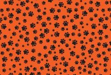 Doggie Square Bandanas / Square Bandanas for Dogs, Proudly Made in the USA with Imported material