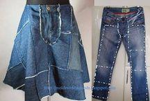 Old Jeans ideer