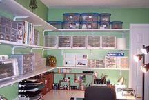 Craft Room Ideas / by Marlene Wilson