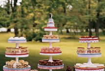 Wedding cakes and treats