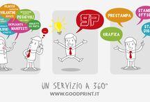 Attività e servizi / studio grafico e stampa offset e digitale