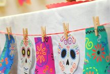 Day of the Dead / How to celebrate Day of the Dead with kids, featuring crafts, food and more! #dayofthedead #diadelosmuertos #DDM