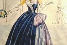 VINTAGE PATTERNS & DRESSES / by Audrey Flinn