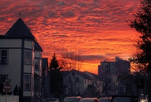 Sunset always makes me blue......