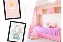 Dziewczynki górą! / Jak urządzić pokój dla dziewczynki? :) Tutaj znajdziesz kilka podpowiedzi.