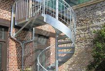 escalier exterieur ferronnerie