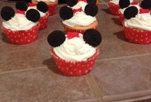 Mickey & Minnie Mouse party idea
