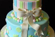 TWINS bday cake