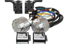 Silver Wolf 4 Wheel Drive Golf Cart Kits / 4WD add on conversion kit for the Club Car Precedent, DS and EzGo TXT RXV.