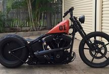 Motorcycle, Bobber, Chopper