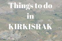 BorderLass in TURKEY / The village of KIRKISRAK in central Turkey. #KIRKISRAK #Kayseri # Turkey