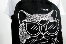 Cat stuff / Design, decoration, clothes, outfit / by La Ale