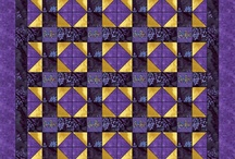 Crown Royal Bag Quilts / Looking for ideAs for quilts to make using my husband's collection of Crown Royal bags. / by Sherri Osborn {Family Crafts}