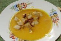 kremova polievka Hokaido