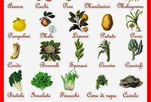 IL CALENDARIO DELLA NATURA / La frutta e la verdura di stagione, mese per mese