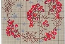 Cross Stitch winter