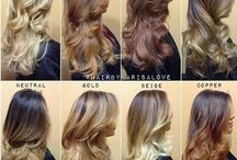hair ombre colours