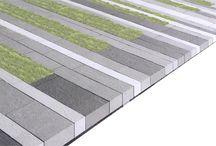 Horizontal surface treatments