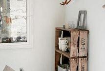houten kastjes