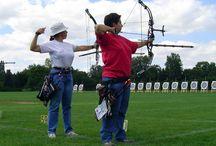 Archery / Tir à l'arc / Tir à l'arc, toutes disciplines. Un univers très sympathique.