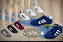Обувь для Sims 4