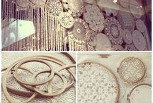 Doily and Lace Wedding