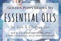 Essential Oils / by Golden Poppy Herbal Apothecary