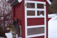 Domečky pro kočky