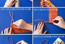 DIY Leather Craft & Tips