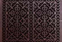 Decorative Grilles / The art form of beautiful grilles, grille work, railing, gates, investment castings, iron work
