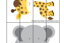 Zwierzęta-układanki