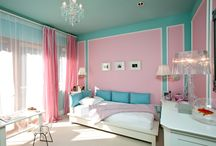 I <3 aqua and pink! / by Amber Young