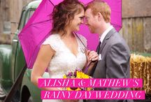 Featured Real Wedding: Alisha & Mathew / Do you believe that rain brings good luck to a marriage? Well, we know it sure makes for gorgeous photos! Head over to the blog to check out Alisha & Mathew's beautiful day with images from Melanie Soleil Photography and entertainment and lighting from A&A Music Events - http://www.realweddingsmag.com/real-weddings-wednesday-presenting-alisha-mathew/