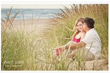 Engagement beach session